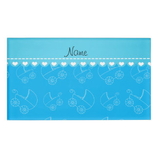baby shower name tags badges zazzle