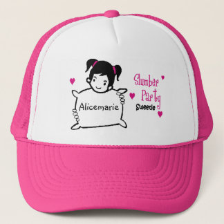 Personalized Slumber Party Hat