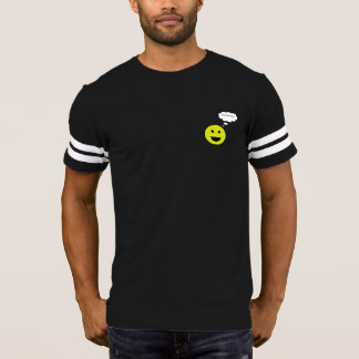 Personalized Smiley Face with Thought Bubble T-Shirt