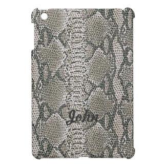 Personalized Snake Skin Print iPad Mini Case