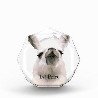 Personalized Snooty Snobby Llama Award