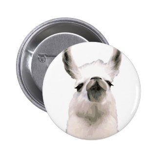 Personalized Snooty Snobby Llama 2 Inch Round Button