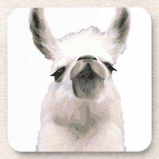 Personalized Snooty Snobby Llama Coaster