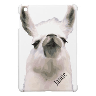 Personalized Snooty Snobby Llama iPad Mini Cases