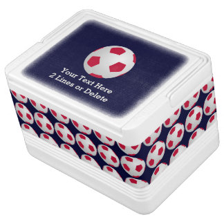 Personalized Soccer Ball Igloo Cooler