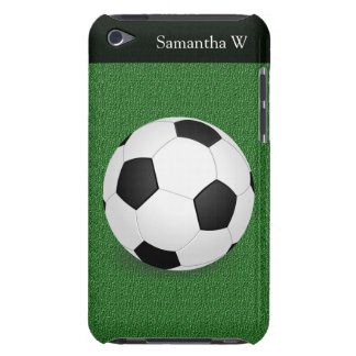 Personalized Soccer Ball iPod Touch Cover