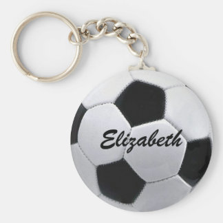 Personalized Soccer Ball Keychain