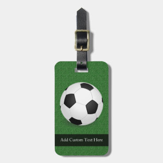 Personalized Soccer Ball Bag Tag