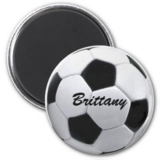 Personalized Soccer Ball Magnet