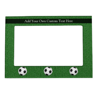 Personalized Soccer Ball Magnetic Picture Frame