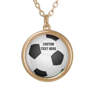 Personalized Soccer Ball Pendant