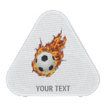 Personalized Soccer Ball on Fire Speaker