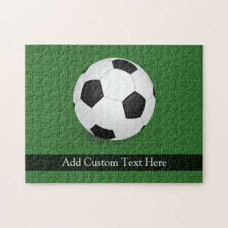 Personalized Soccer Ball Puzzles