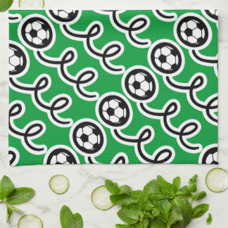 Personalized soccer ball towel | Sport theme