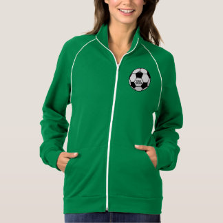 Personalized Soccer Ball with Team Name and Number Jacket