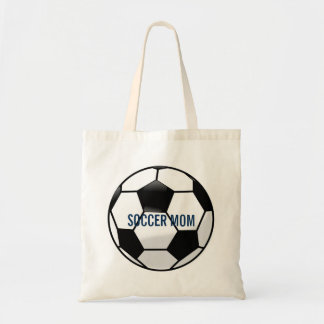 Personalized Soccer Ball with Team Name and Number Tote Bag
