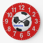 Personalized Soccer Clocks with Instructions