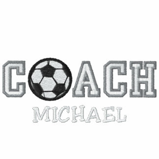 Personalized Soccer Coach Embroidered Shirt