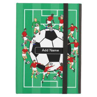 Personalized Soccer football iPad Folio Cases