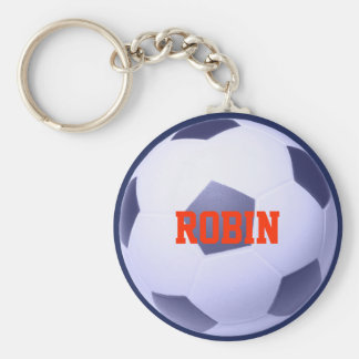 Personalized Soccer-Football Keychain