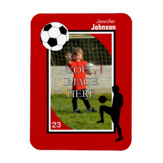 Personalized Soccer/Football Magnet