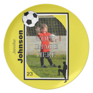 Personalized Soccer/Football Plate