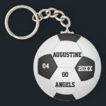 "Personalized Soccer Gifts for Boys &amp; Girls Keychain<br><div class=""desc"">Personalized Soccer Keychains with Player&#39;s Name,  Team Name,  Jersey Number and the Year on it. this cheap soccer keychains is great for a gift.Delete any or all text. IMPORTANT Personalize each soccer keychain,  ONE at a Time,  ADD that keychain to CART.</div>"