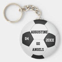 Personalized Soccer Gifts for Boys & Girls Keychain