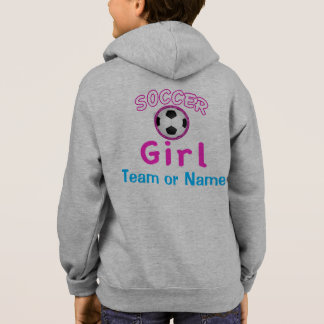 Personalized Soccer Hoodies for Girls