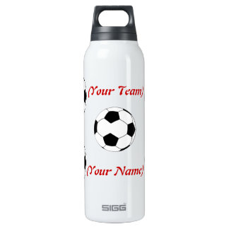 Personalized Soccer Liberty Bottle 16 Oz Insulated SIGG Thermos Water Bottle