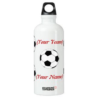 Personalized Soccer Liberty Bottle SIGG Traveler 0.6L Water Bottle