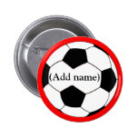 Personalized Soccer Pin/Button