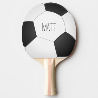 Personalized Soccer Ping-Pong Paddle