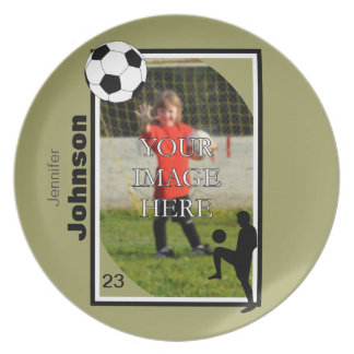 Personalized Soccer Plate