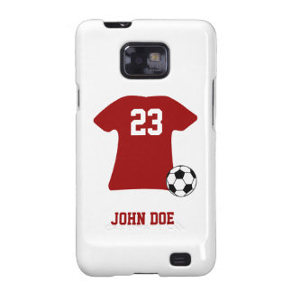 Personalized Soccer Shirt Ball Samsung Galaxy S2 Samsung Galaxy S2 Cases