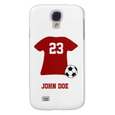 Personalized Soccer Shirt Htv Vivid Case at Zazzle