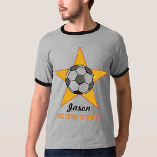 Personalized Soccer Star T-Shirt