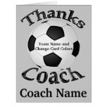 Personalized Soccer Thank You Cards, INSTRUCTIONS