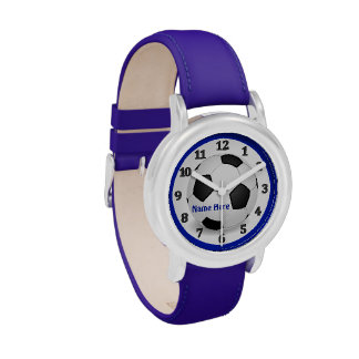 PERSONALIZED Soccer Watch for Kids or Adults