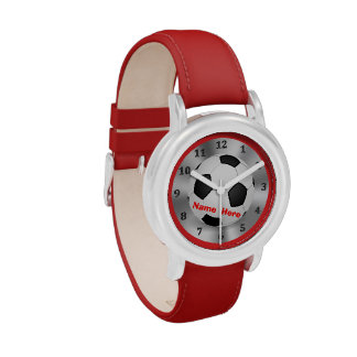 """Personalized Soccer Watches Boys with their """"NAME"""""""