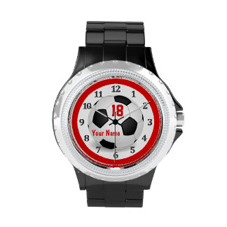 Personalized Soccer Watches for Women