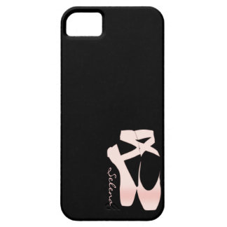 Personalized Soft Gradient Pink Ballet Shoes iPhone 5 Covers