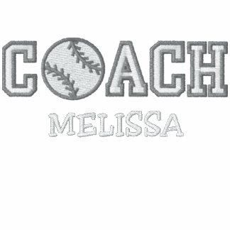 Personalized Softball Coach Jackets