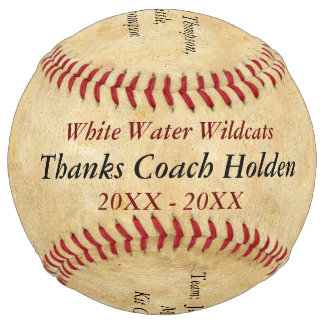 Personalized Softball Coach Thank You Gifts