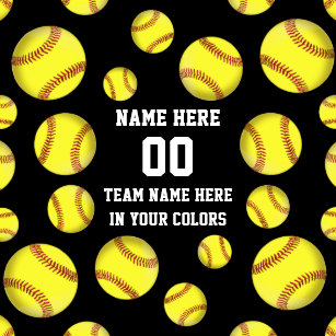 a979ab207383 Personalized Softball Gifts Cheap in Your Colors Keychain