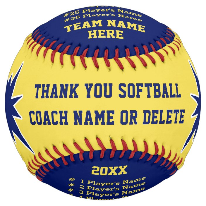 Softball Gifts for Coaches, Players