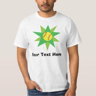 Personalized Softball Player Tee Shirt