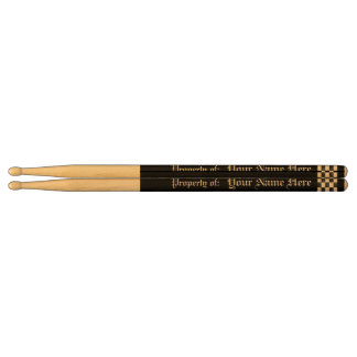 Personalized Solid Color Drumsticks