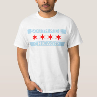 Personalized Southside Chicago Flag Tees