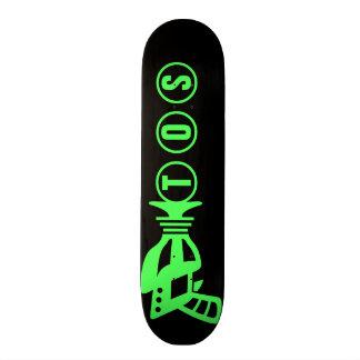 Personalized Space Gun Skate Board
